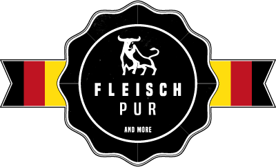 FLEISCHPUR and more Logo